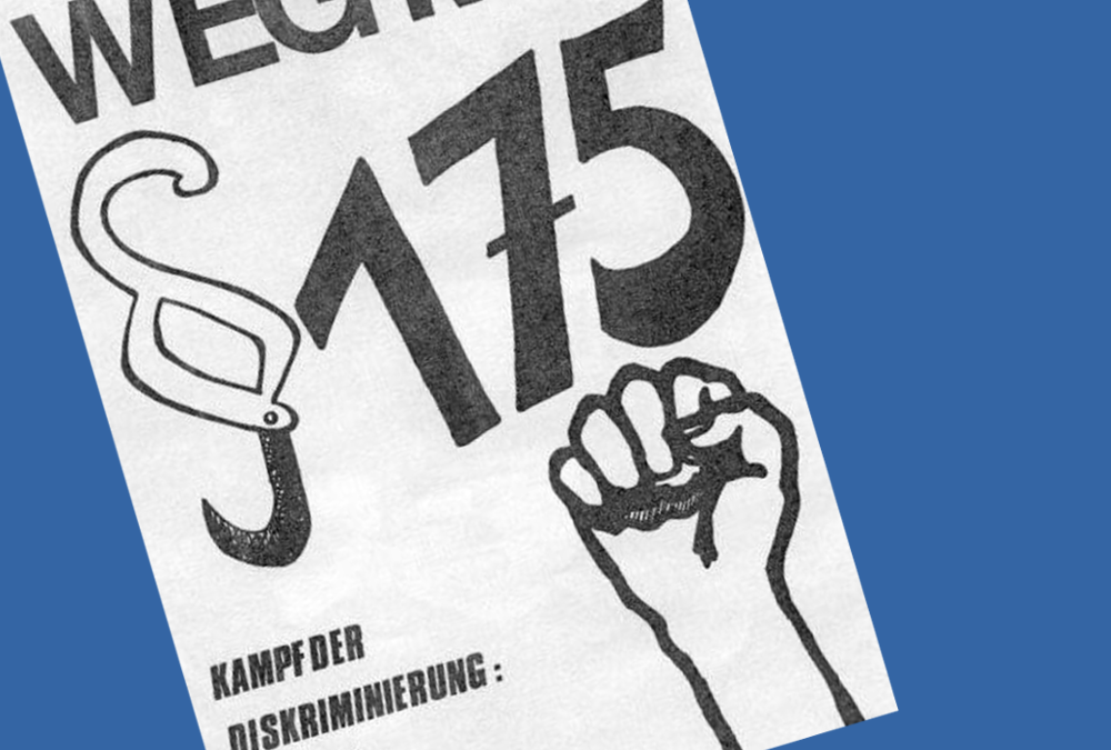 Vor 25 Jahren wurde der §175 gestrichen – (k)ein Grund zum Feiern